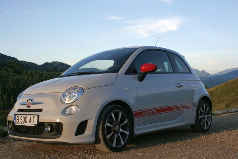 drive test cu fiat 500 abarth andra zaharia. Black Bedroom Furniture Sets. Home Design Ideas