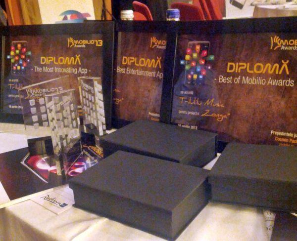 Zonga - premii @ ZF Mobilio Awards
