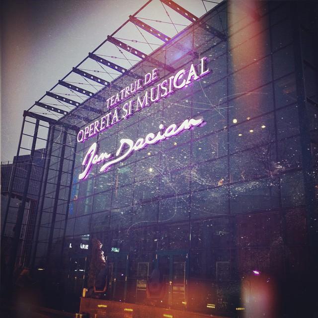 teatrul national de opereta noul sediu