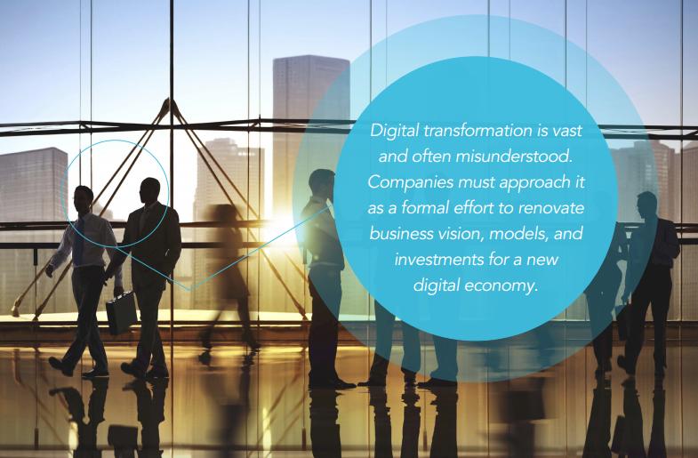 digital transformation missunderstood