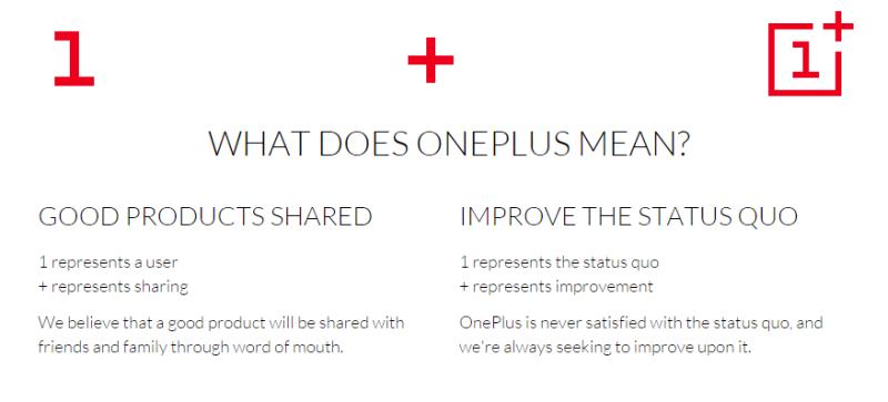 oneplus one philosophy